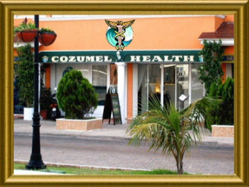 Cozumel Health Store Front
